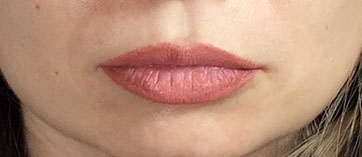 Lippen Permanent Make-up Beispiel