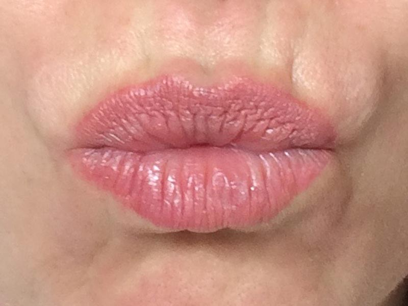 Lippen und Beauty-Trends